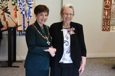 Image of Mrs Val Thorburn, of Tauranga, QSM, for services to music education