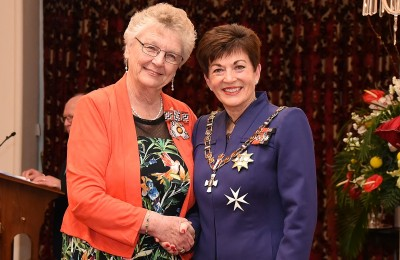Image of Mary Gavin, of Nelson, QSO, for services to women and the community