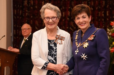 Image of Christine Dunn, of Whangaparaoa, QSM, for services to the community