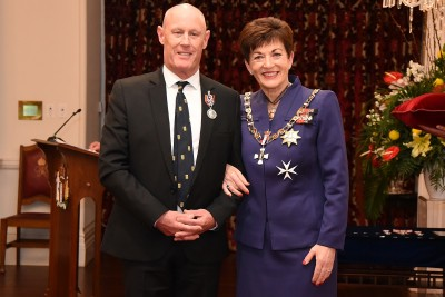 Image of Richard Madden, of Dunedin, QSM, for services to music