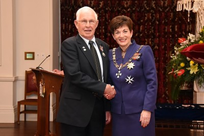 Image of Barry Pomeroy, of Nelson, QSM, for services to veterans and the community