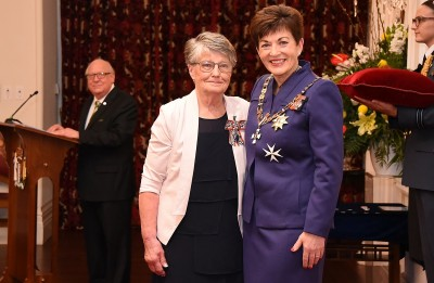 Image of  Frances Scammell, of Gore, QSM,for services to the community