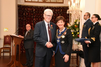 Image of  Dr David Mitchell, of Pegasus, ONZM, for services to education