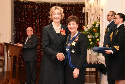 Image of Frances Wilson-Fitzgerald, of Auckland, ONZM, for services to opera