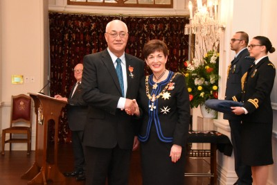Image of Peter MacGregor, of Hastings, MNZM, for services to Māori and agriculture