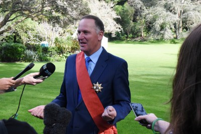 Image of The Rt Hon Sir John Key