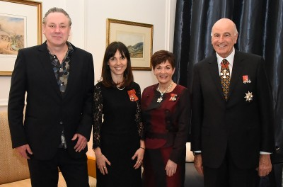 Image of Emily Perkins, MNZM and Karl Maughan