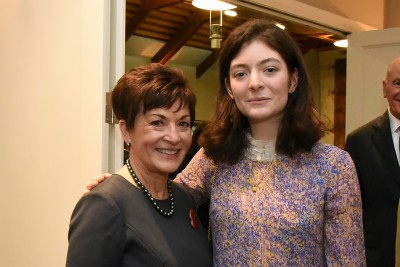 An image of Dame Patsy and Ella Yelich-O'Connor