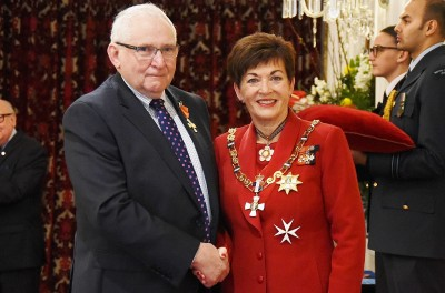 Image of Allan Fenwick, of Marton, ONZM, for services to the thoroughbred racing industry