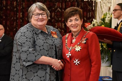 Image of  Wendy McGowan, of Rotorua, ONZM, for services to rural women