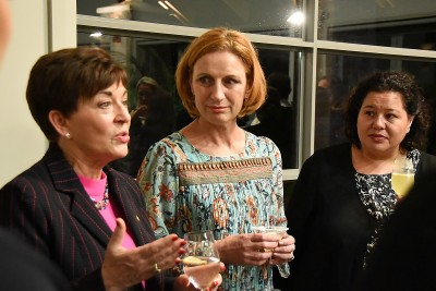 Image of Dame Patsy and guests