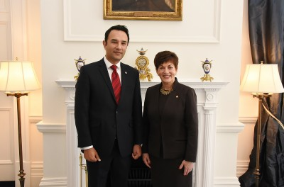 Image of HE the Rt Hon Dame Patsy Reddy with HE Mr Wahidullah Waissi, the Ambassador of the Islamic Republic of Afghanistan