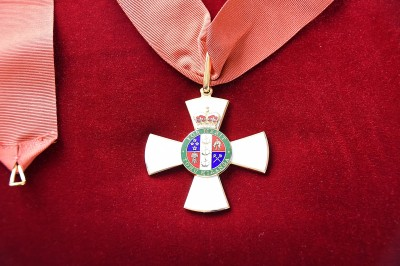 Image of the insignia of a Companion of the New Zealand Order of Merit
