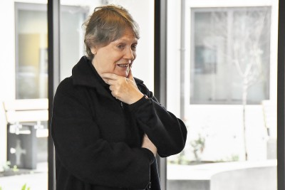 Image of Helen Clark speaking