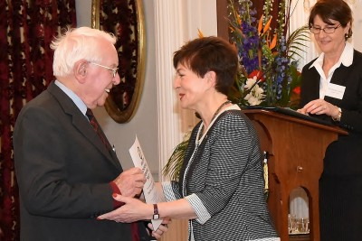 an image of Dame Patsy and Keith Begg