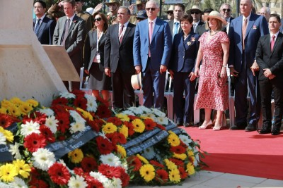 an image from The Turkish Service at the Ataturk Memorial