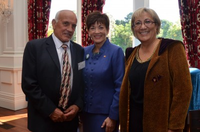 an image of Mike Mohi, Dame Patsy and Mavis Mullins