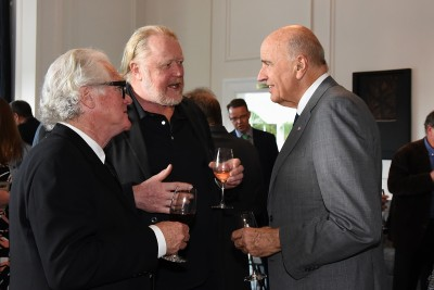 an image of Sir David and guests