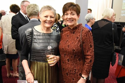 Image of Dame Patsy with NZSD Foundation trustee Sue Paterson
