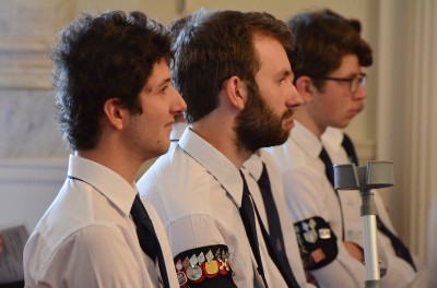 an image of Boys' Brigade members