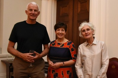 an image of Dame Patsy and Michael and Diane Lookman