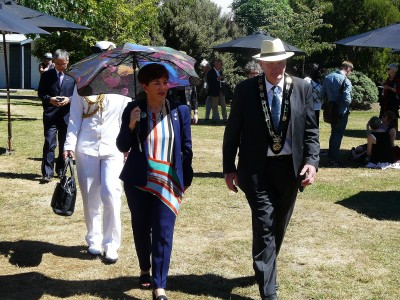 an image of Dame Patsy and Hurunui Mayor Winton Dalley