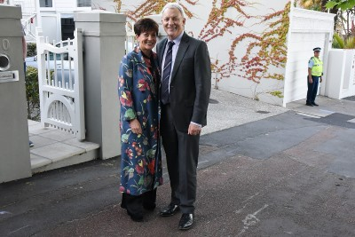 Image of Dame Patsy and Auckland Mayor, Phil Goff