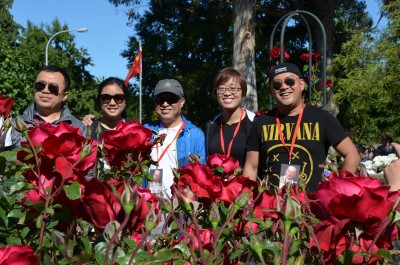 an image of Visitors from China