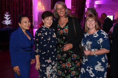 Image of Dame Patsy with Jacquie Manzano, Philippa Shierlaw and Louise Beard