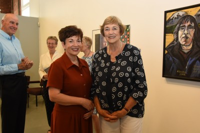 an image of Dame Patsy with Suzanne Blumhardt