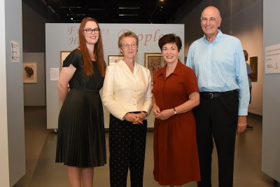 an image of Dame Patsy and Sir David with Jaenine Parkinson and Dr Pamela Gerrish Nunn