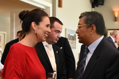 an image of The Rt Hon Jacinda Adern meeting the Diplomatic Corps
