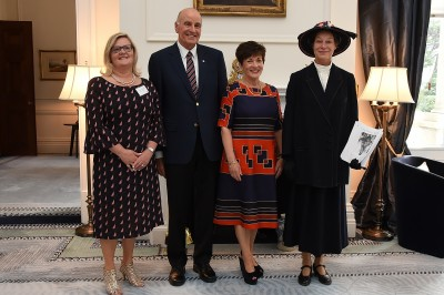 an image of Susie Staley, Their Excellencies and Anne Chamberlain