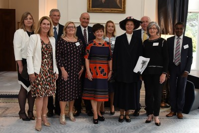 an image of Their Excellencies, Anne Chamberlain and the Save the Children Board