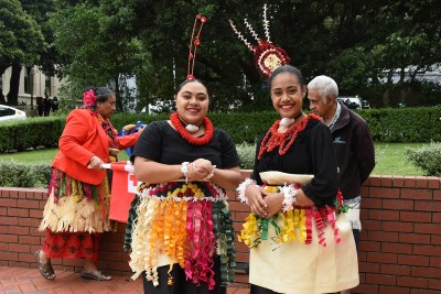 an image of the Tongan cultural party