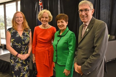 Image of Alison Duncan, Dame Quentin Bryce, Dame Patsy Reddy and Ewen McDonald
