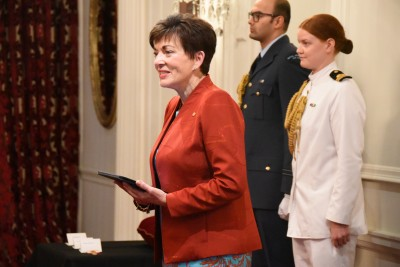 Image of Dame Patsy Reddy speaking