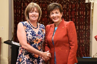 Image of Dame Patsy and Gail Corbett