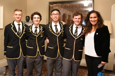 Image of students from Wellington College