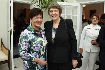 Image of Dame Patsy and Helen Clark