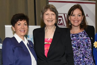an image of Dame Patsy, The Rt Hon Helen Clark and Hon Julie Anne Genter