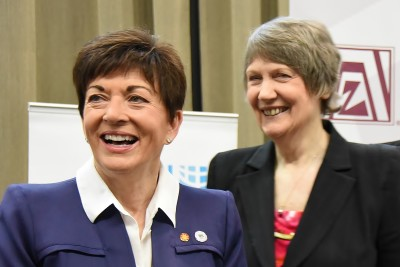 an image of Dame Patsy and The Rt Hon Helen Clark