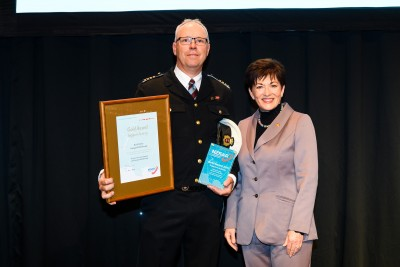 Image of  Image of Gold Award for Support Activity winner - Dave St John, Coastguard Marlborough
