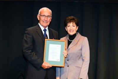 Image of Certificate of Achievement for Support Activity winner - John Thompson Coastguard Waimakariri-Ashley