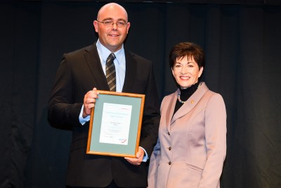 Image of Certificate of Achievement for Support Activity winner - David Pontin SLSNZ