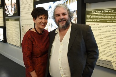 Image of Dame Patsy with Sir Peter Jackson