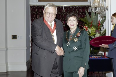 Image of Dr Garth Carnaby and Dame Patsy Reddy
