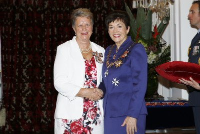 Image of Dame Patsy and Raewyn Fox