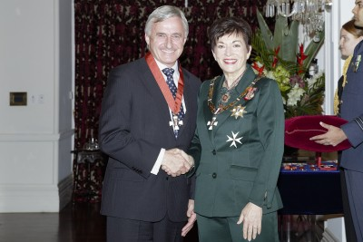 Image of Dr William Rolleston and Dame Patsy