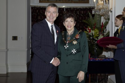 Image of Dame Patsy and Dr Andrew Holden